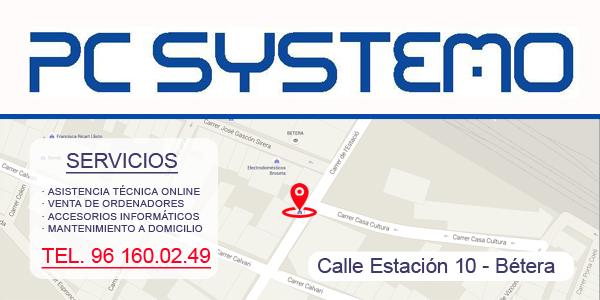 tienda informatica pcsystemo